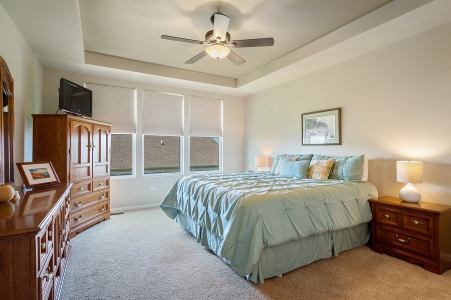 Real Estate Photography - 3440 Rockwell Circle, Mundelein, IL, 60060 - Master Bedroom