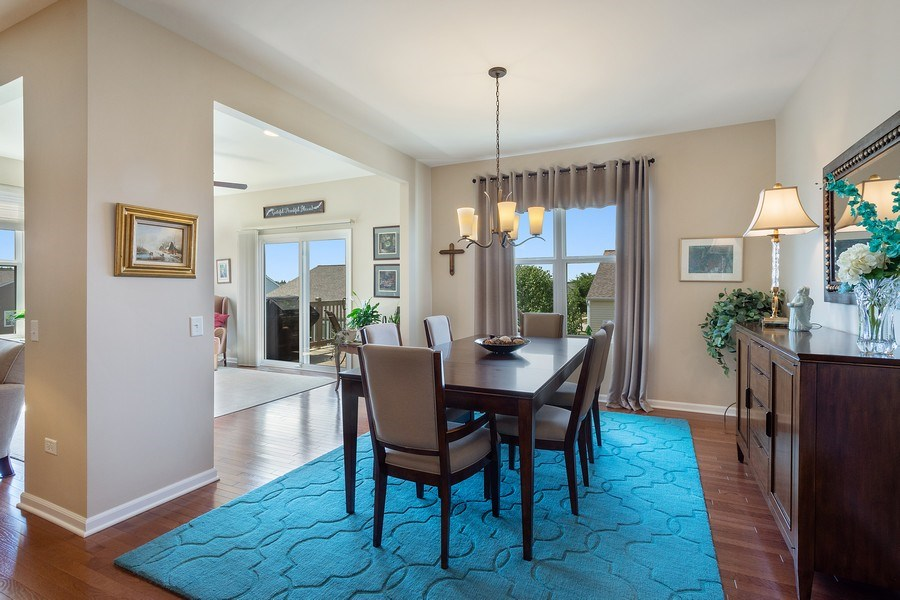 Real Estate Photography - 3440 Rockwell Circle, Mundelein, IL, 60060 - Dining Room