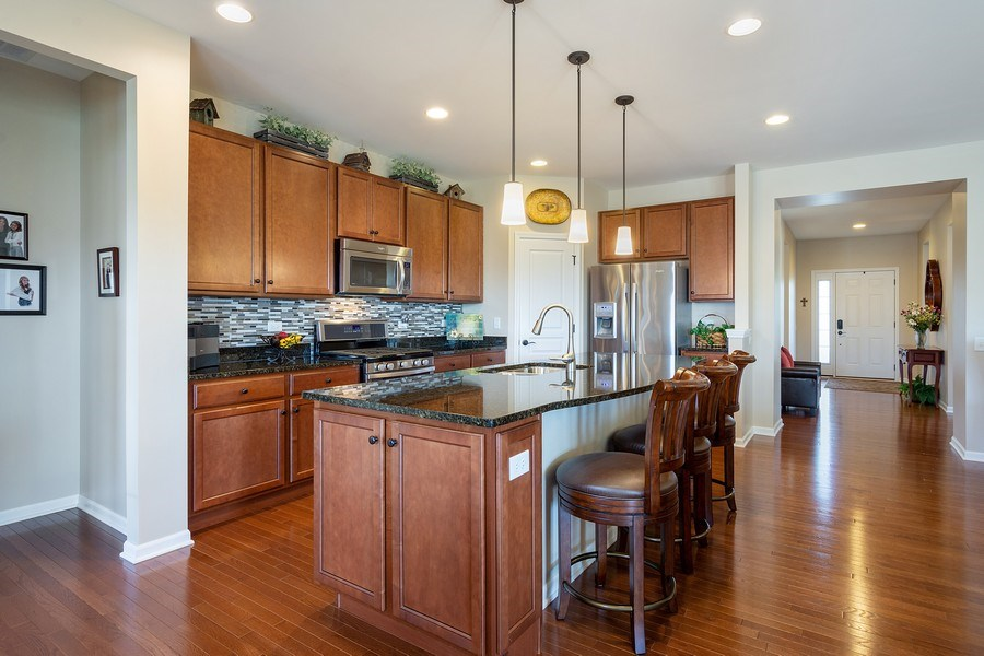 Real Estate Photography - 3440 Rockwell Circle, Mundelein, IL, 60060 - Kitchen