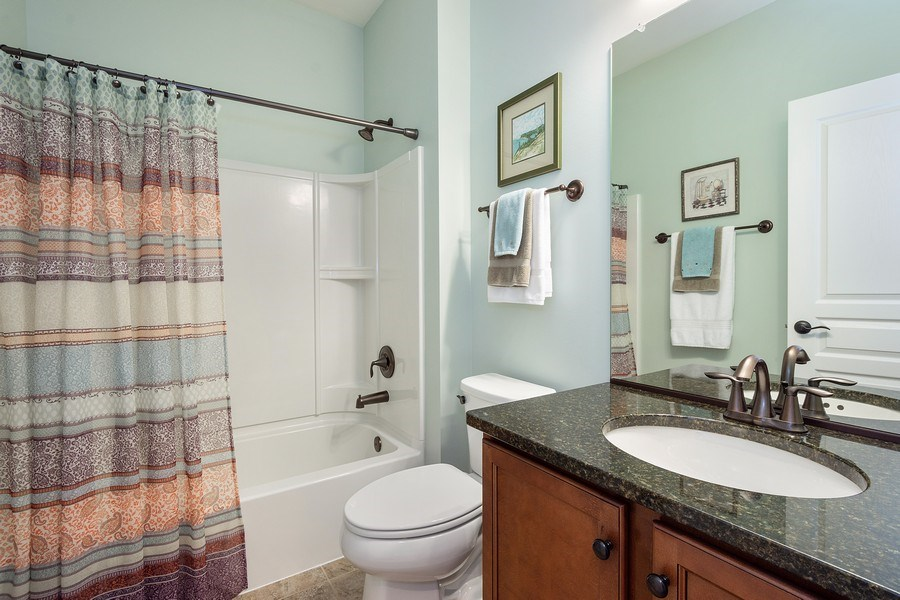 Real Estate Photography - 3440 Rockwell Circle, Mundelein, IL, 60060 - Bathroom