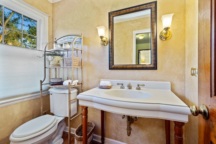 Real Estate Photography - 3284 Monitor Lane, Long Grove, IL, 60047 - Powder Room