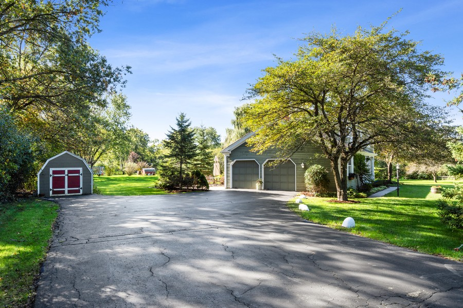 Real Estate Photography - 3284 Monitor Lane, Long Grove, IL, 60047 - Side View