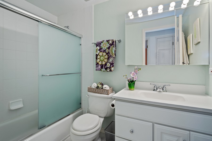 Real Estate Photography - 3284 Monitor Lane, Long Grove, IL, 60047 - 2nd Bathroom