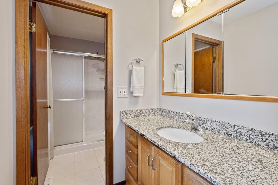 Real Estate Photography - 1869 Burr Ridge Drive, Hoffmann Estates, IL, 60192 - Master Bathroom