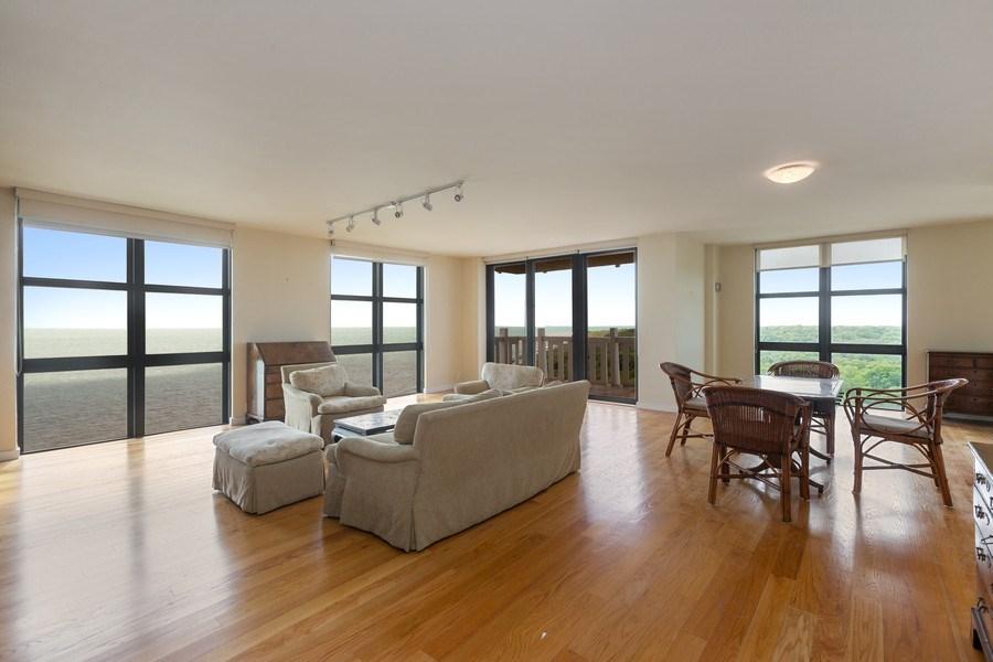 Real Estate Photography - 1111 Crandon Blvd, Unit B701, Key Biscayne, FL, 33149 - Living Room