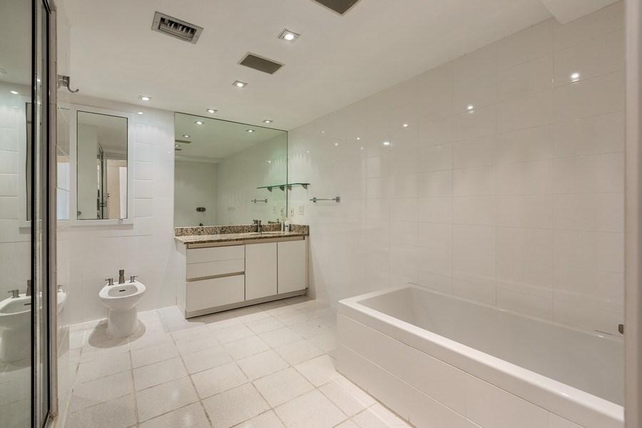 Real Estate Photography - 1111 Crandon Blvd, Unit B701, Key Biscayne, FL, 33149 - Master Bathroom