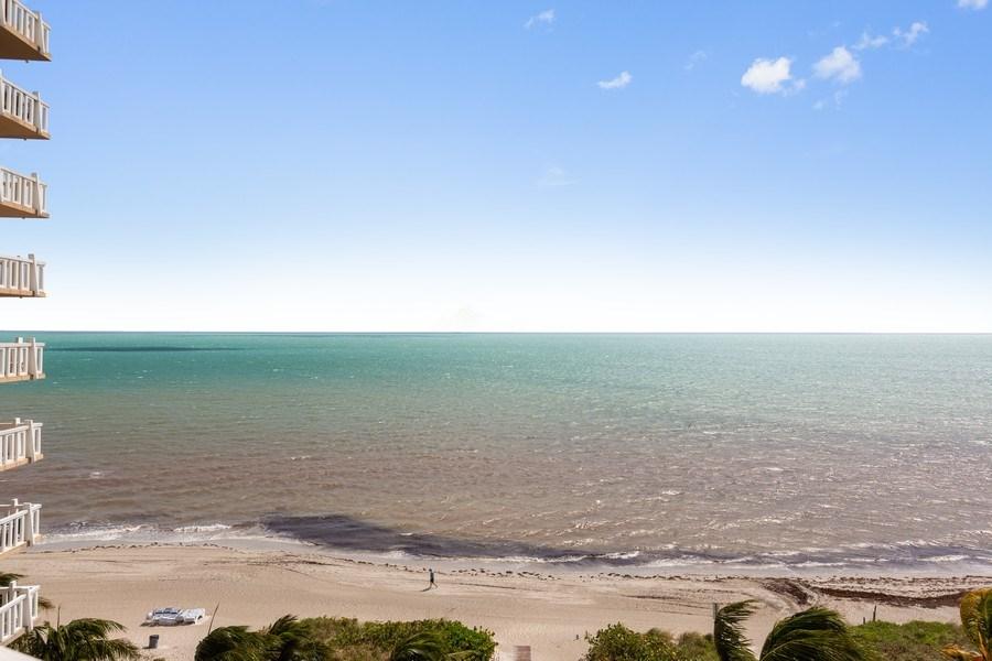 Real Estate Photography - 1111 Crandon Blvd, Unit B701, Key Biscayne, FL, 33149 - Ocean View
