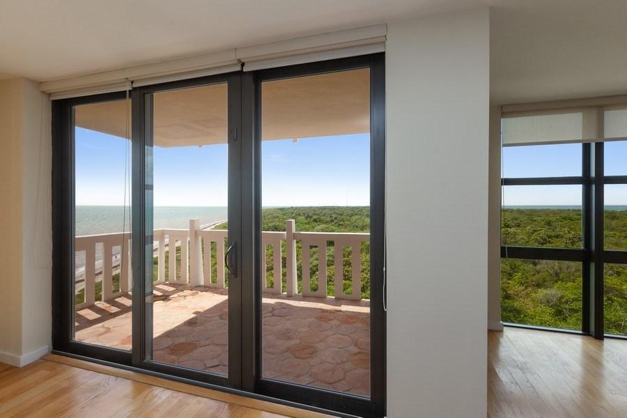 Real Estate Photography - 1111 Crandon Blvd, Unit B701, Key Biscayne, FL, 33149 - Balcony