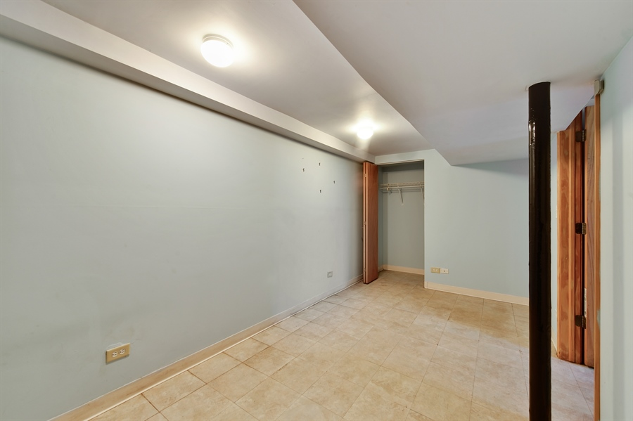 Real Estate Photography - 2930 N Rockwell St, Chicago, IL, 60618 - Lower Level