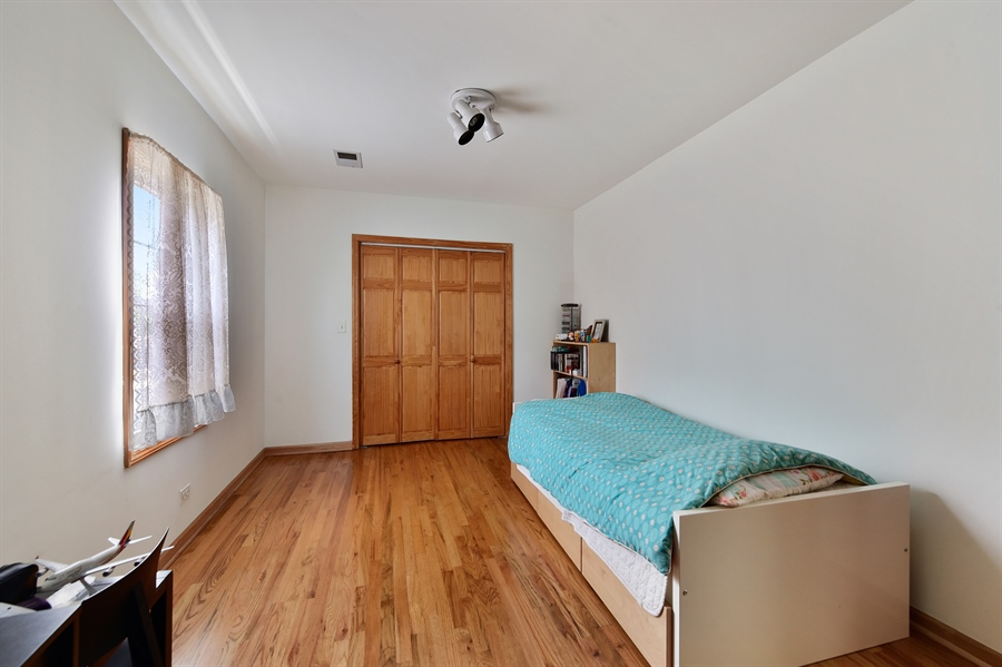 Real Estate Photography - 2930 N Rockwell St, Chicago, IL, 60618 - Bedroom