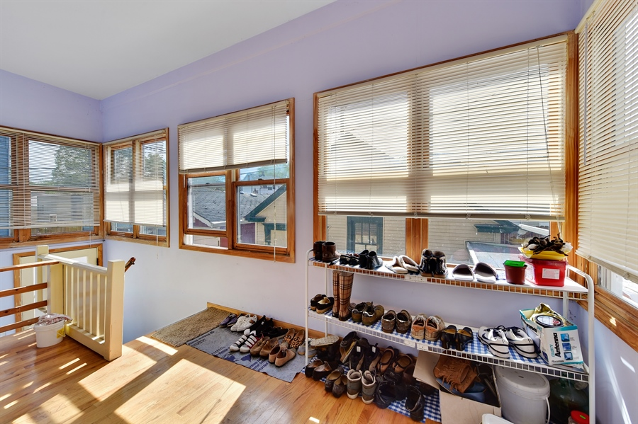 Real Estate Photography - 2930 N Rockwell St, Chicago, IL, 60618 - Mudroom