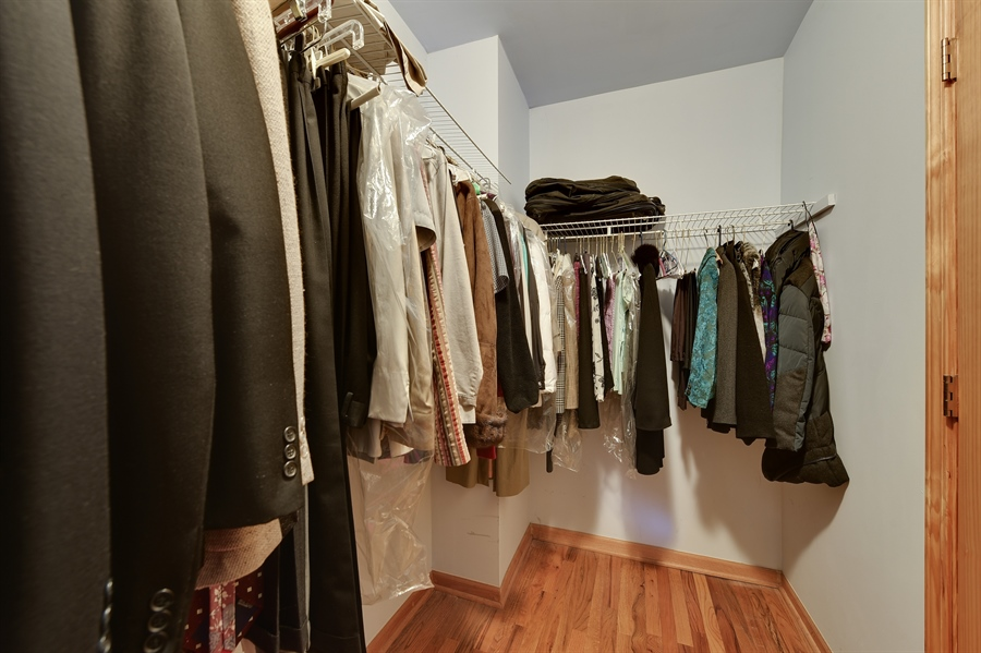 Real Estate Photography - 2930 N Rockwell St, Chicago, IL, 60618 - Closet