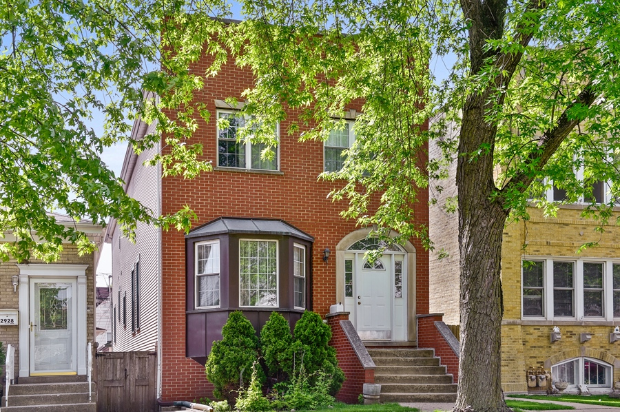 Real Estate Photography - 2930 N Rockwell St, Chicago, IL, 60618 - Front View