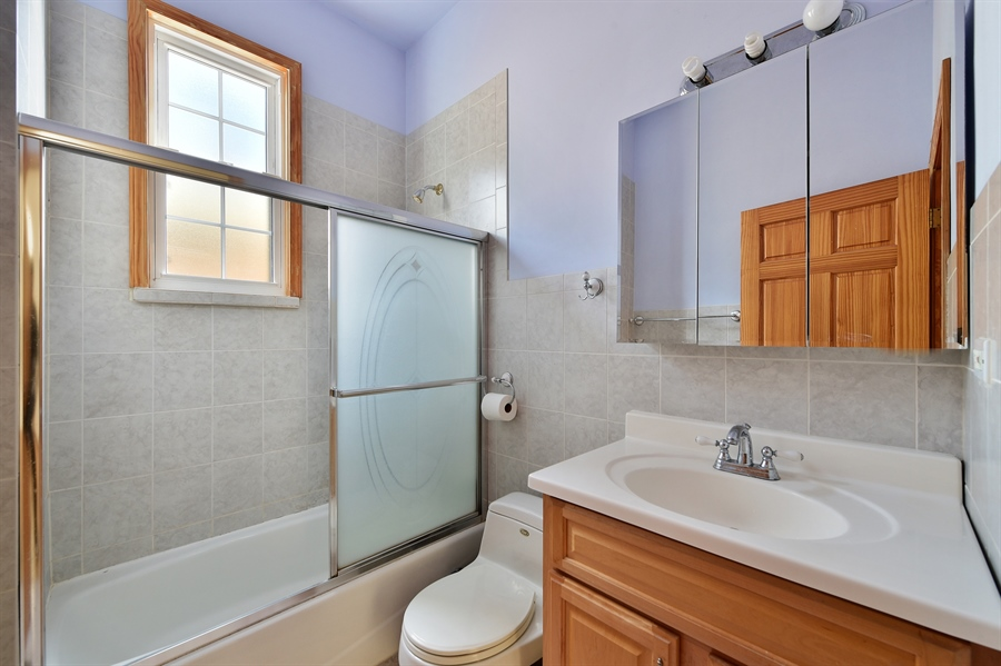 Real Estate Photography - 2930 N Rockwell St, Chicago, IL, 60618 - Bathroom