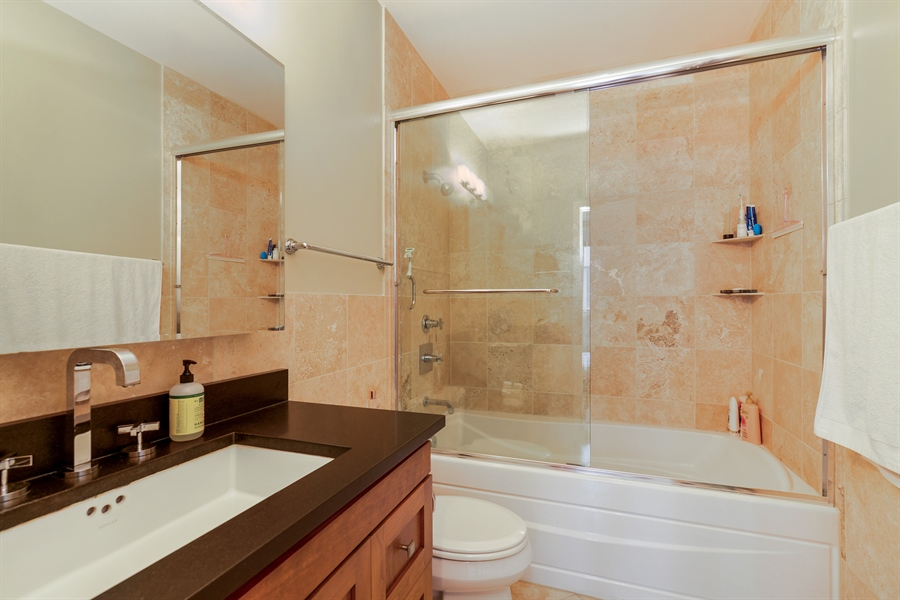 Real Estate Photography - 2225 W Madison, 7, Chicago, IL, 60612 - Master Bathroom
