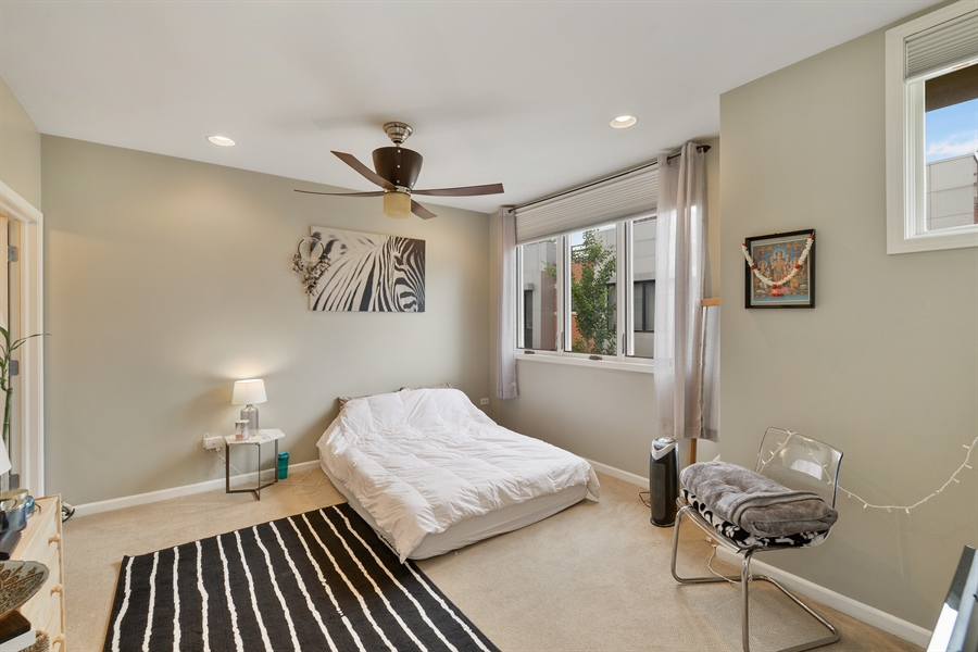 Real Estate Photography - 2225 W Madison, 7, Chicago, IL, 60612 - Master Bedroom