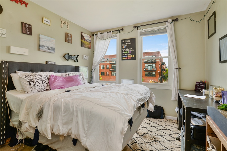Real Estate Photography - 2225 W Madison, 7, Chicago, IL, 60612 - 2nd Bedroom