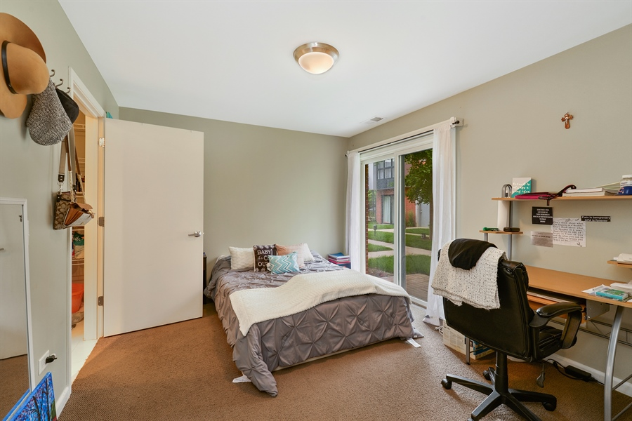 Real Estate Photography - 2225 W Madison, 7, Chicago, IL, 60612 - 3rd Bedroom