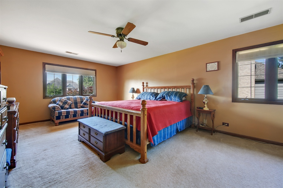 Real Estate Photography - 13530 Arctic Lane, Lemont, IL, 60439 - Master Bedroom