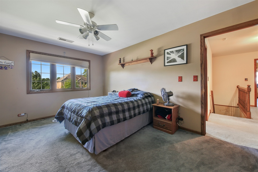 Real Estate Photography - 13530 Arctic Lane, Lemont, IL, 60439 - 2nd Bedroom