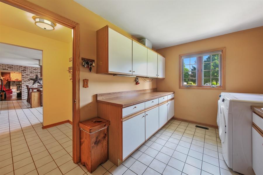 Real Estate Photography - 13530 Arctic Lane, Lemont, IL, 60439 - Laundry Room