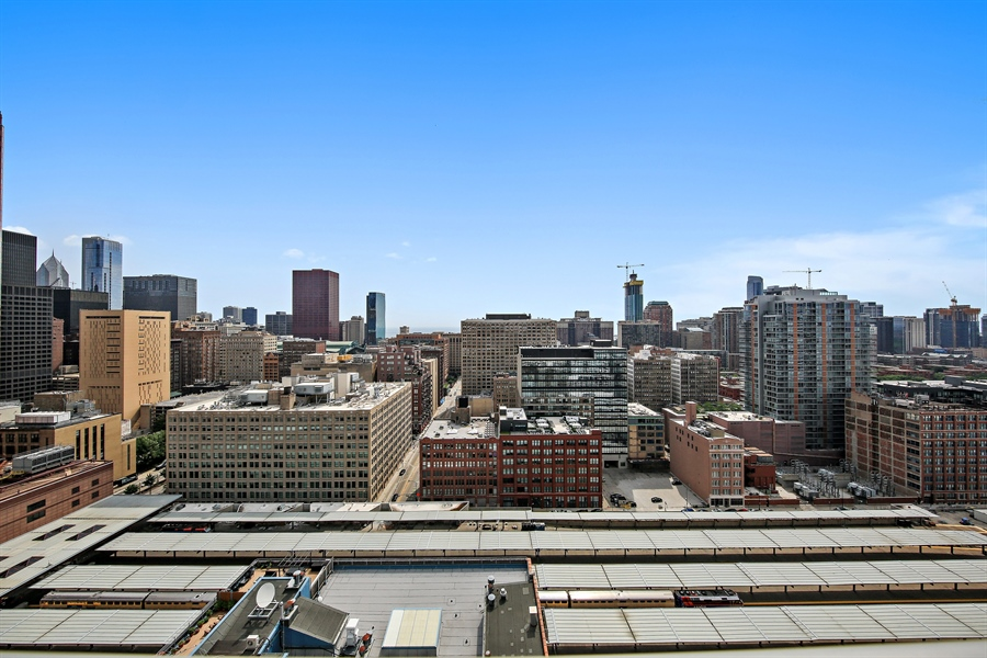 Real Estate Photography - 611 S Wells Street, 2609, chicago, IL, 60607 - View
