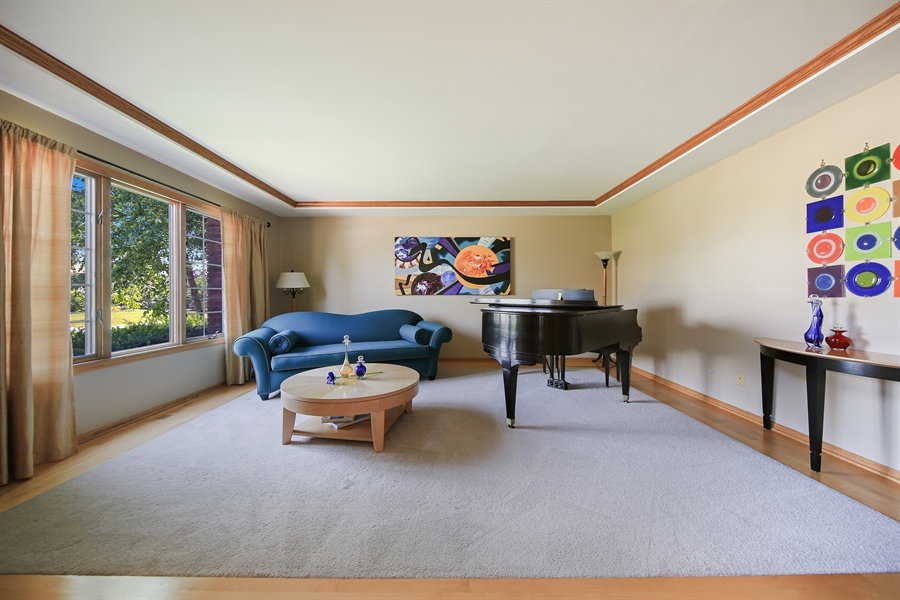 Real Estate Photography - 13130 Fox Hill Drive, Lemont, IL, 60439 - Living Room