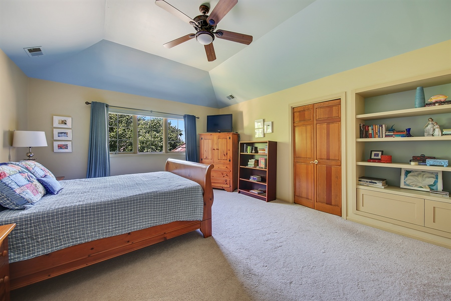 Real Estate Photography - 13130 Fox Hill Drive, Lemont, IL, 60439 - Master Bedroom