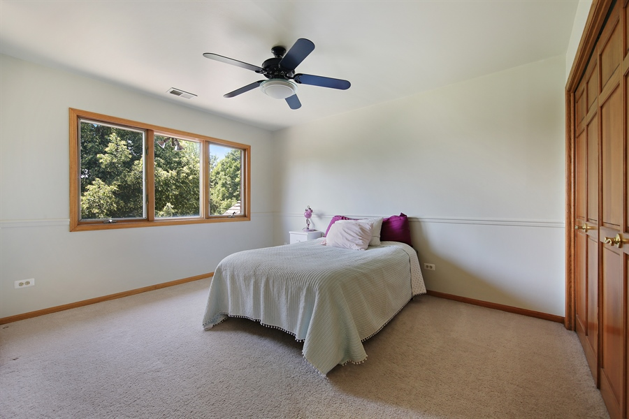 Real Estate Photography - 13130 Fox Hill Drive, Lemont, IL, 60439 - 3rd Bedroom