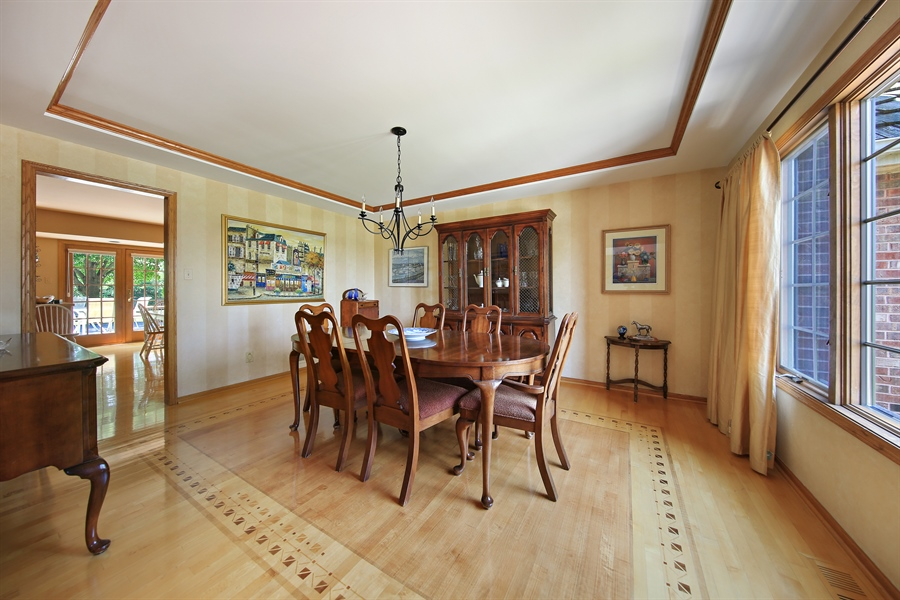 Real Estate Photography - 13130 Fox Hill Drive, Lemont, IL, 60439 - Dining Room