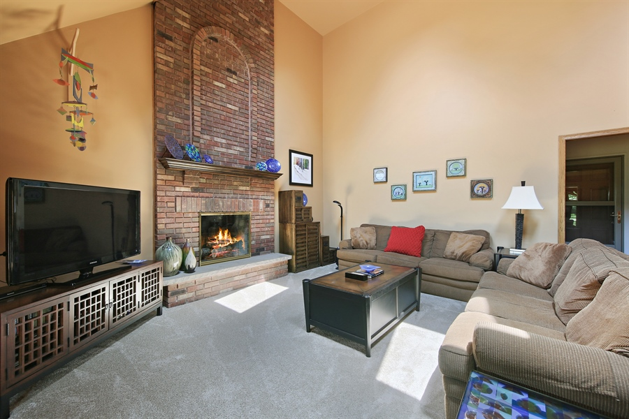 Real Estate Photography - 13130 Fox Hill Drive, Lemont, IL, 60439 - Family Room