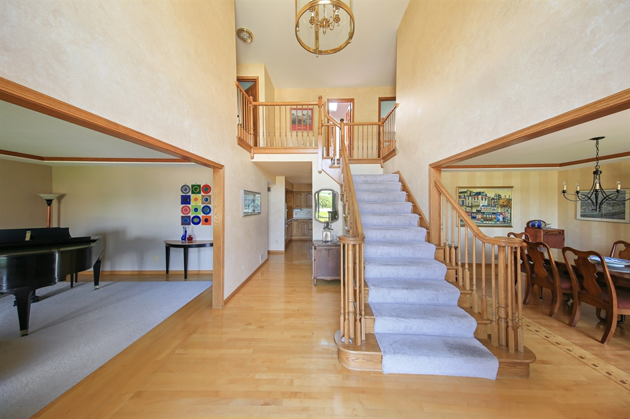 Real Estate Photography - 13130 Fox Hill Drive, Lemont, IL, 60439 - Foyer