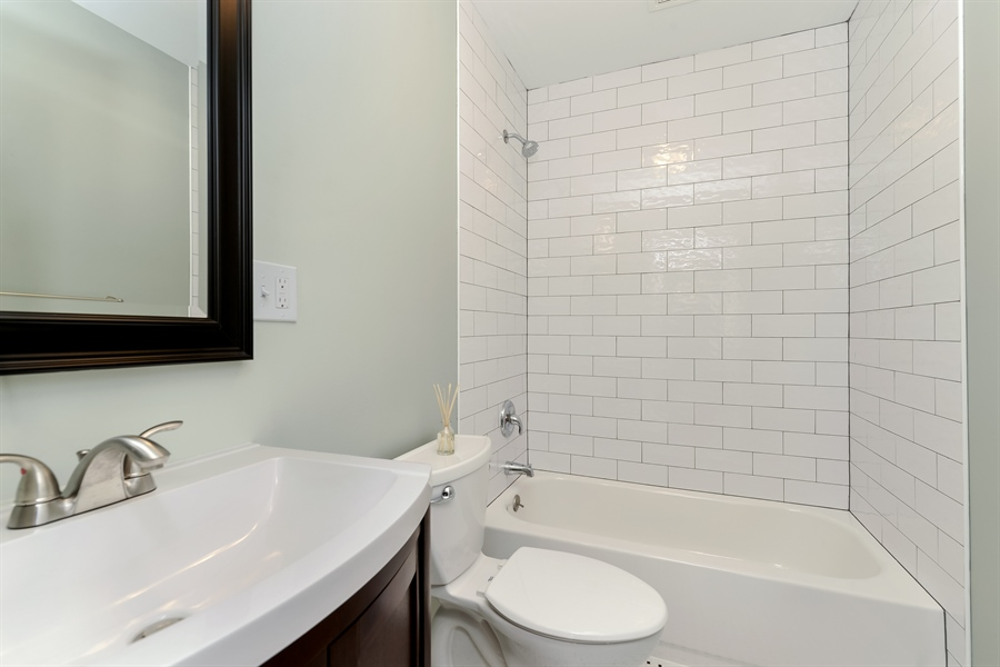 Real Estate Photography - 3325 N Osceola Avenue, Chicago, IL, 60634 - 3rd Bathroom