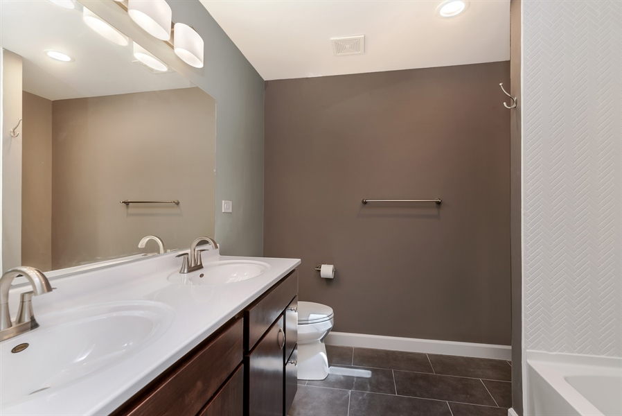 Real Estate Photography - 3325 N Osceola Avenue, Chicago, IL, 60634 - Master Bathroom