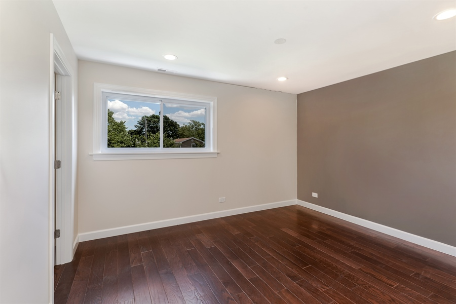 Real Estate Photography - 3325 N Osceola Avenue, Chicago, IL, 60634 - Master Bedroom