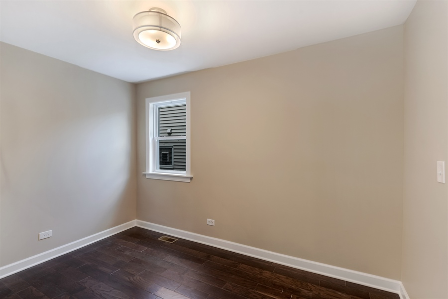 Real Estate Photography - 3325 N Osceola Avenue, Chicago, IL, 60634 - 4th Bedroom