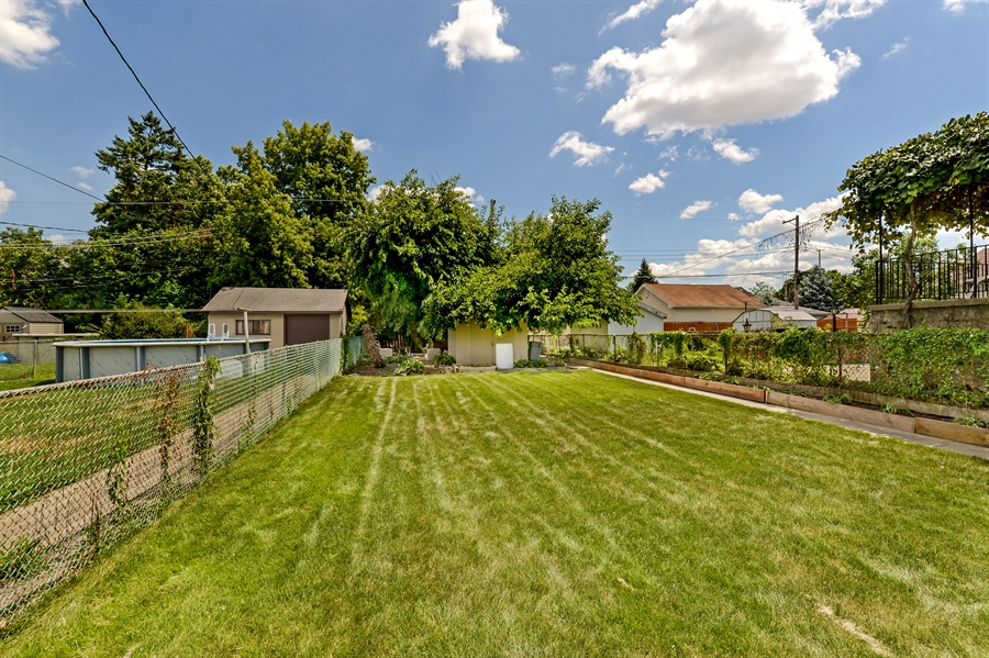 Real Estate Photography - 3325 N Osceola Avenue, Chicago, IL, 60634 - Back Yard