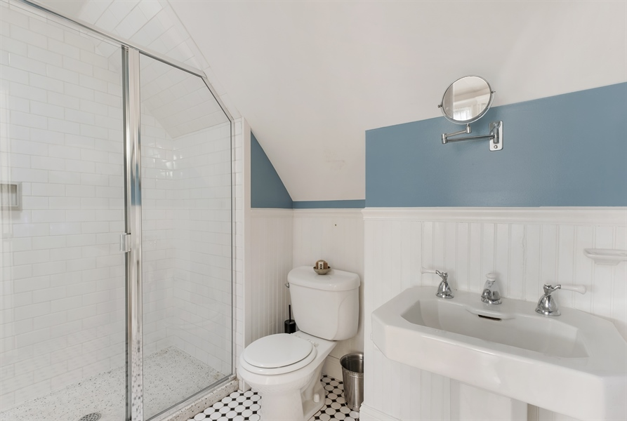 Real Estate Photography - 1241 Maple Ave, Wilmette, IL, 60091 - 3rd Bathroom