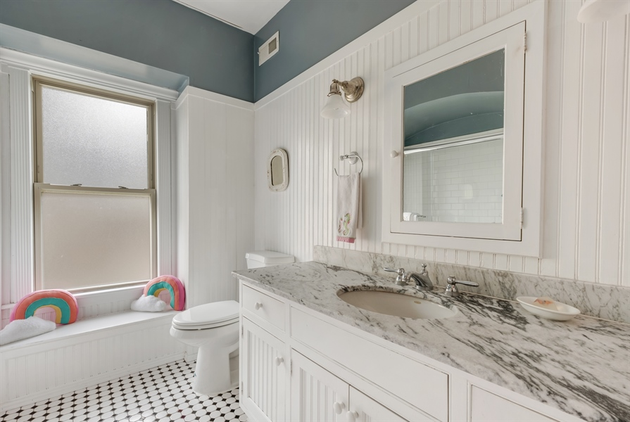 Real Estate Photography - 1241 Maple Ave, Wilmette, IL, 60091 - Bathroom
