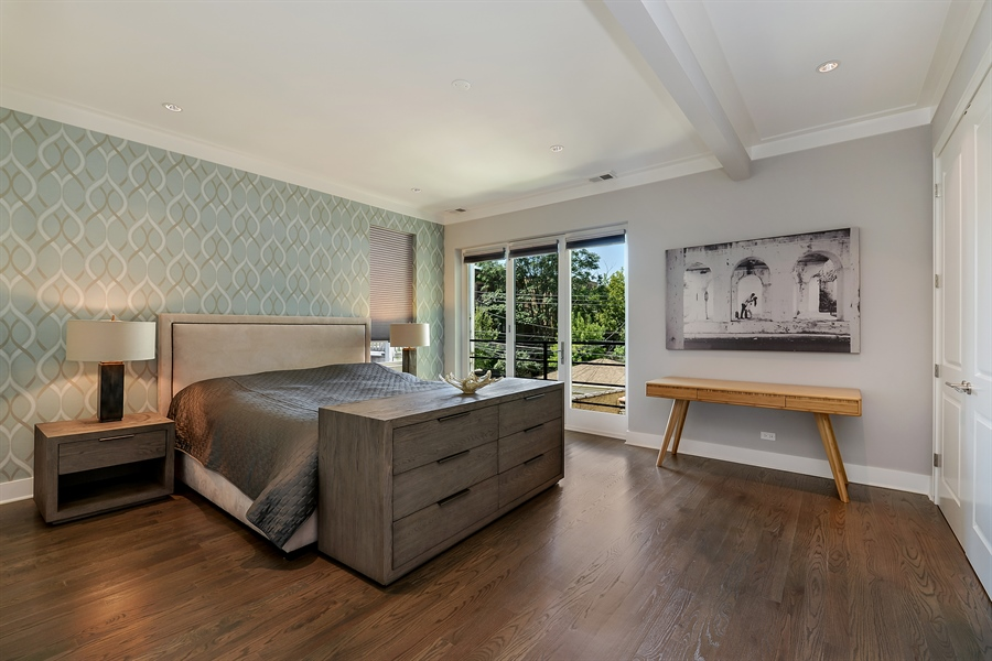 Real Estate Photography - 1018 N Oakley Blvd, Chicago, IL, 60622 - Master Bedroom
