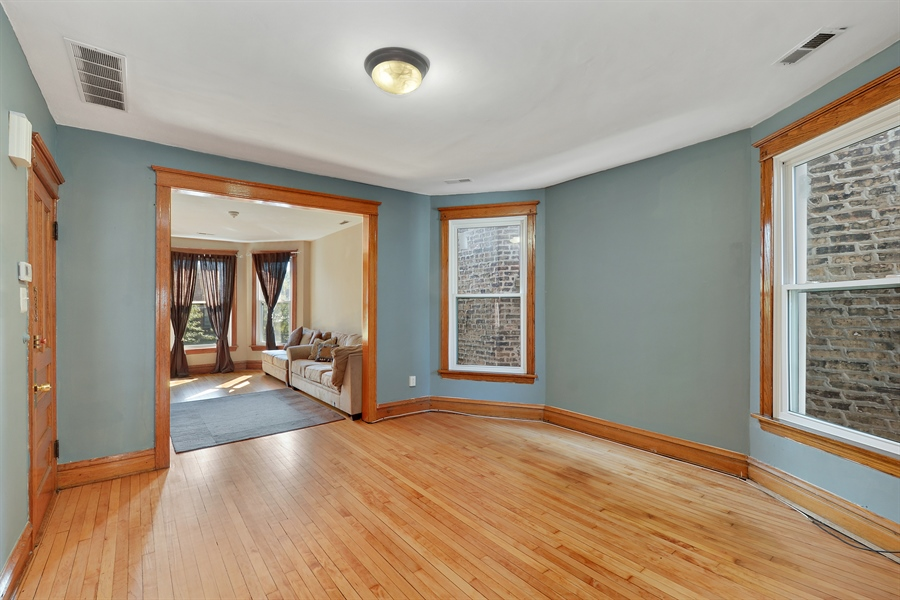 Real Estate Photography - 3742 N Ashland Ave, Unit 2, Chicago, IL, 60613 - Living Room