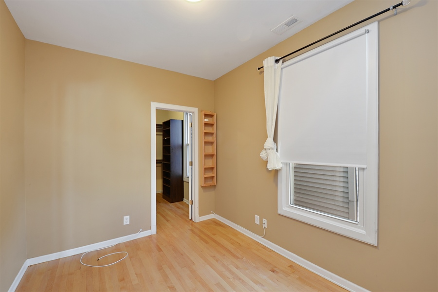 Real Estate Photography - 3742 N Ashland Ave, Unit 2, Chicago, IL, 60613 - Bedroom