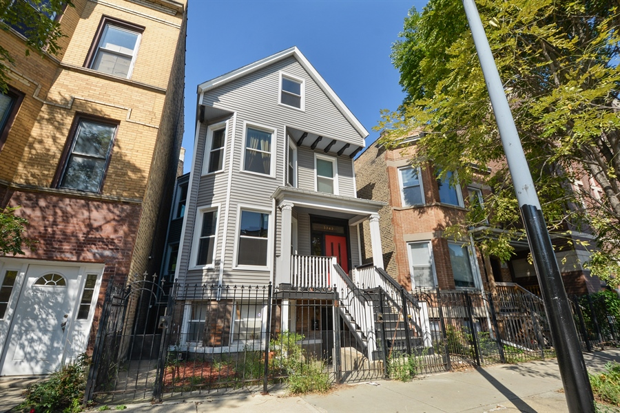 Real Estate Photography - 3742 N Ashland Ave, Unit 2, Chicago, IL, 60613 - Front View
