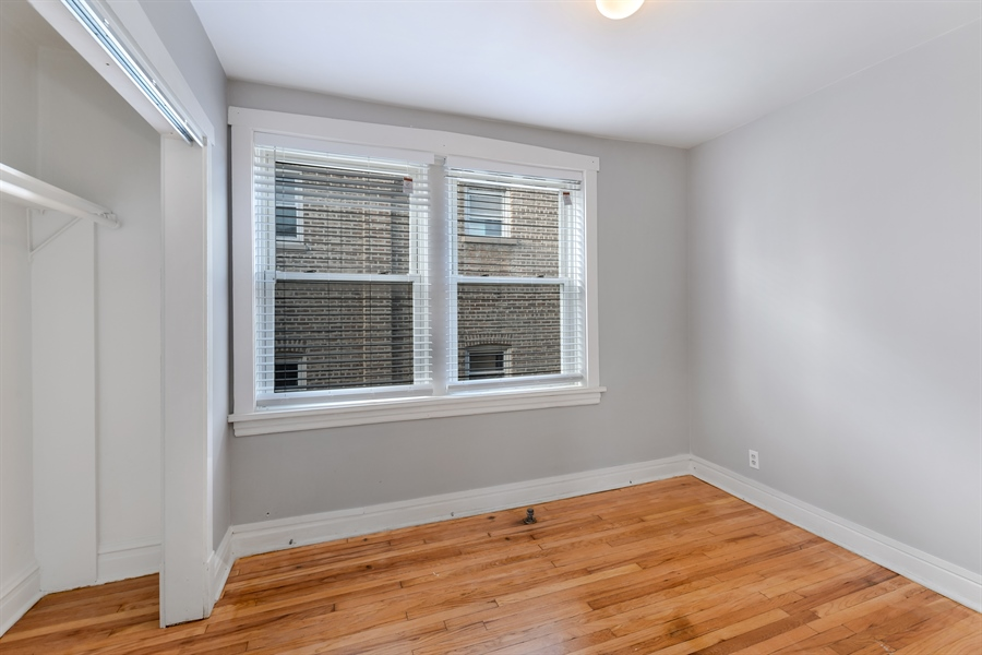 Real Estate Photography - 4314 Shakespeare, Unit 3, Chicago, IL, 60639 - 3rd Bedroom