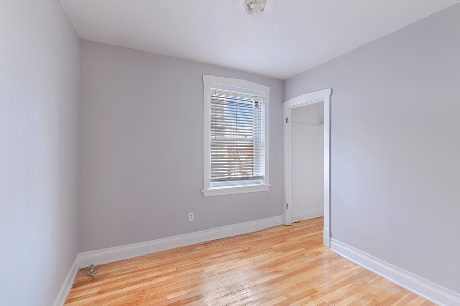Real Estate Photography - 4314 Shakespeare, Unit 3, Chicago, IL, 60639 - Bedroom