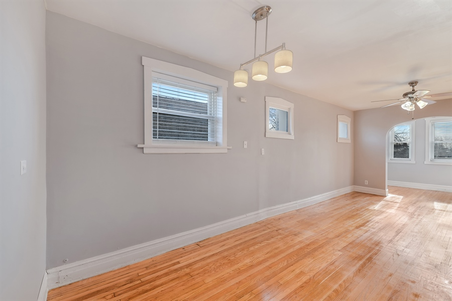 Real Estate Photography - 4314 Shakespeare, Unit 3, Chicago, IL, 60639 - Dining Room