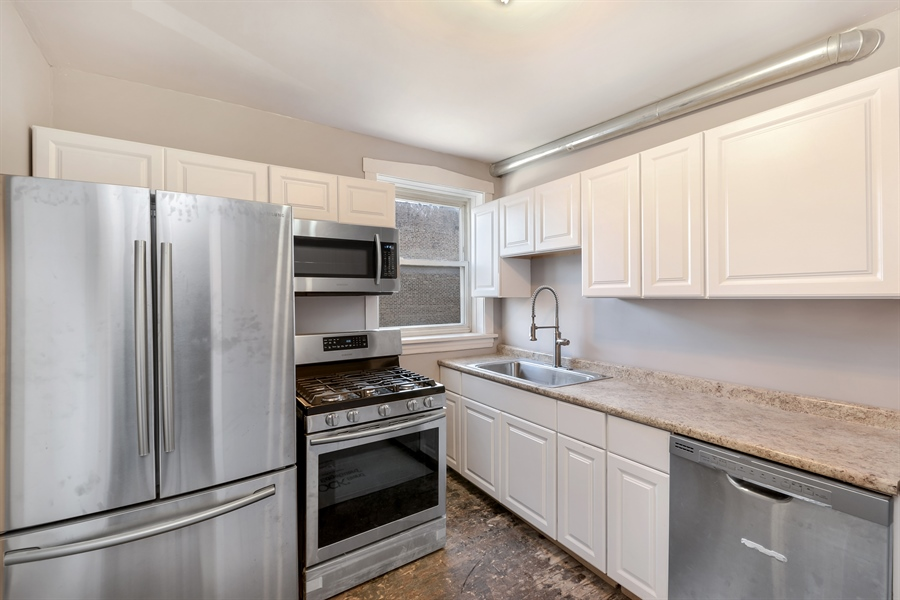 Real Estate Photography - 4314 Shakespeare, Unit 3, Chicago, IL, 60639 - Kitchen