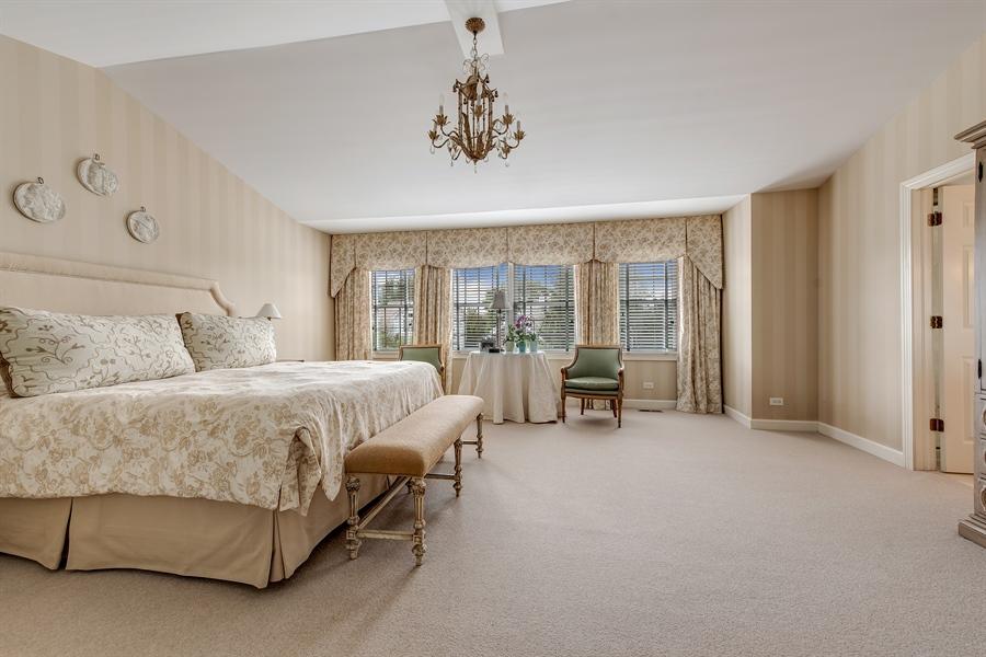 Real Estate Photography - 1748 Primrose Ln, Glenview, IL, 60026 - Master Bedroom