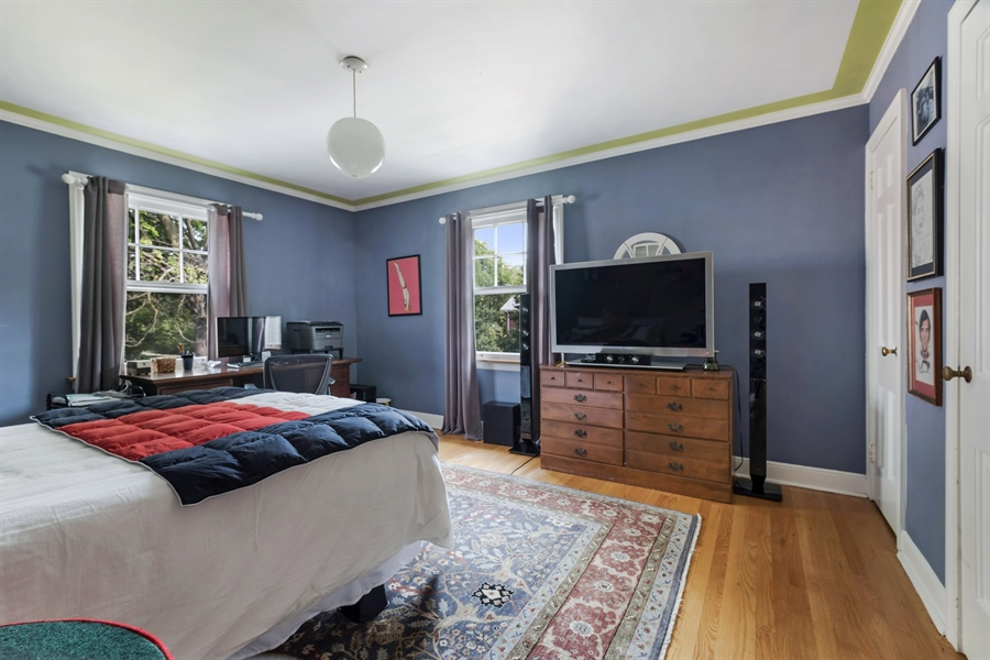 Real Estate Photography - 838 Indian Rd, Glenview, IL, 60025 - 3rd Bedroom