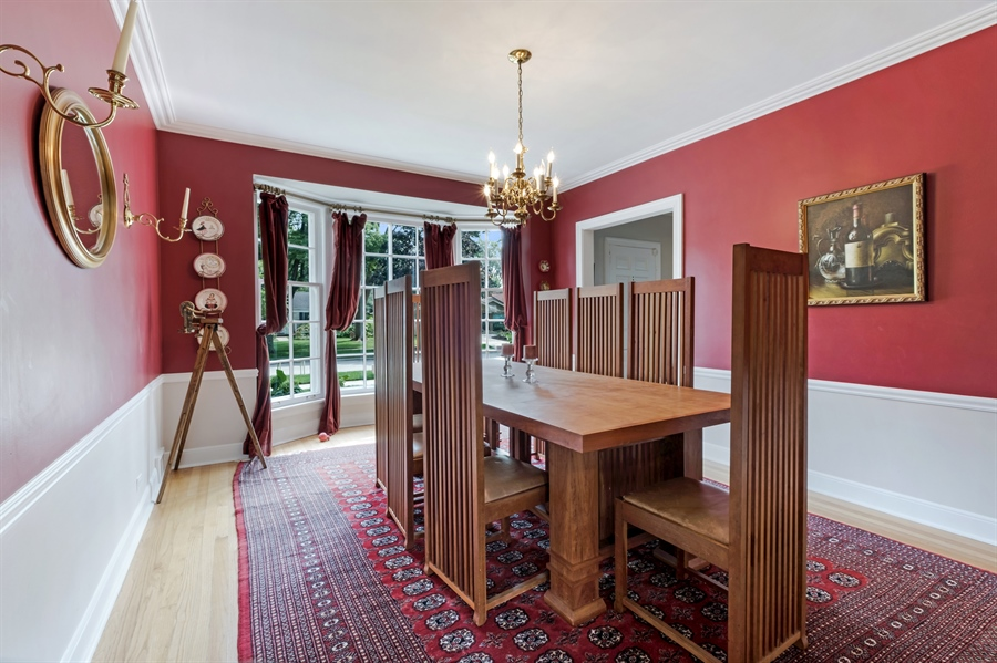 Real Estate Photography - 838 Indian Rd, Glenview, IL, 60025 - Dining Room